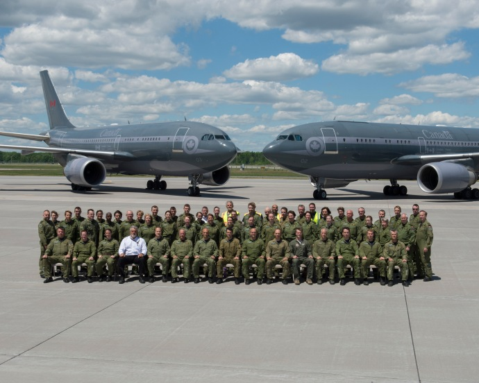 437 Sqn group photo